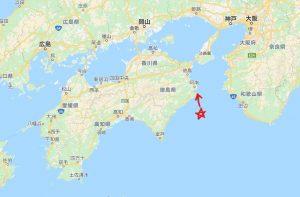 四国の右下、徳島県阿南市